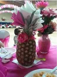 centerpieces ideas pineapple centerpiece ideas roundup the hawaiian home