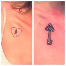 friendship lock key tattoo design tattooshunt com