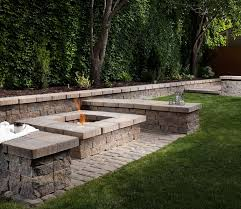Paver Patio Designs With Fire Pit 135 Best Ideas U0026 Inspiration Belgard Pavers Images On Pinterest