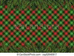 christmas pattern red green red green checkered pattern background with christmas tree