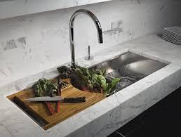 kallista kitchen faucets kallista mick de giulio multiere 45 kitchen sink with deluxe