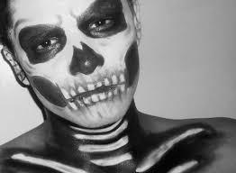 calavera maquillaje para halloween skull makeup youtube