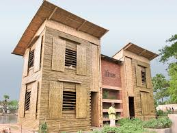 the lift house low cost amphibious housing for flood prone areas
