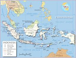 Indonesia On A World Map by Indonesia Map Jpg