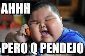 Ahhh Meme - ahhh asian fat kid meme en memegen