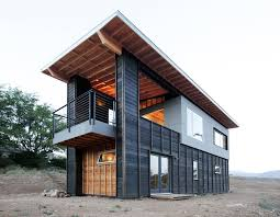 modern desert home design highly crafted modern desert cabin idesignarch interior design