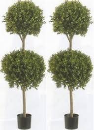 2 artificial 56 boxwood 2 topiary uv tree outdoor bush 3 5