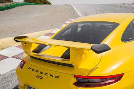 porsche yellow paint code 2018 porsche 911 gt3 first drive review as you like it