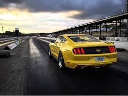 mustang quarter upr resets the ecoboost mustang quarter mile record again