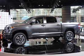 Nicest Truck Interior Revamped 2018 Toyota Tundra Pickup Debuts In Chicago Trucks Com