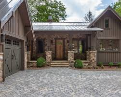 Ranch Style House Exterior Best 25 Rustic Houses Exterior Ideas On Pinterest Rustic