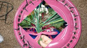 diy hubcaps decorations indoor or outdoor wreaths with
