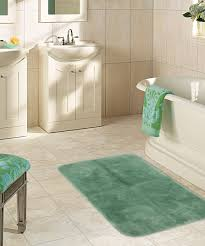 Green Bathroom Rugs by Extra Large Cotton Green Bath Rugs With Latex Backing And Unique