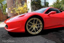 gold ferrari 458 italia ferrari friday modulare wheels ferrari 458 italia 21 22