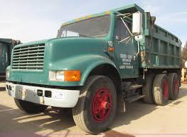 1991 international 4900 dump truck item g9800 sold febr