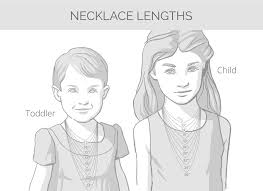 girl necklace size images Teardrop locket for childern includes chain free 1 side jpg