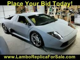 lamborghini replica kit car lamborghini murcielago replica kit car for sale lambo lp640