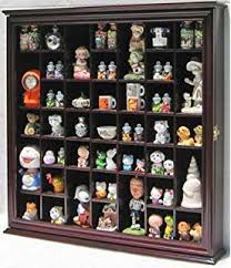 Curio Cabinet With Glass Doors Small Wall Mountable Curio Cabinet Shadow Box With