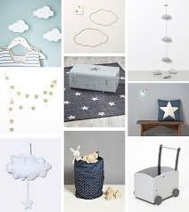 decoration nuage chambre bébé inspiration déco 1 nuages et étoiles pour la chambre de bébé