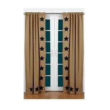Lined Burlap Curtain Panels Lined Burlap Curtain Panels Instacurtainss Us