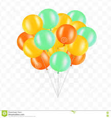 bunch of balloons balloons on transparent background bunch of balloons isolated