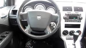 2007 Dodge Caliber Interior 2008 Dodge Caliber Sxt Gray Stock 6065911 Interior Youtube