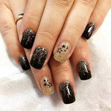 Nail Art Designs For New Years Eve Glittering Gorgeous New Year U0027s Eve Nail Art Photos