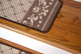amazon com carpet stair treads caramel scroll border