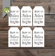 Mirs Rugs Blow Us Kisses Tags Bubbles Tags Wedding Gift Tag Instant