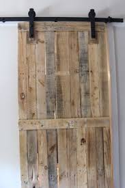 How To Make A Sliding Barn Door by Diy Pallet Sliding Barn Door Pallet Barn Barn Doors And Pallets