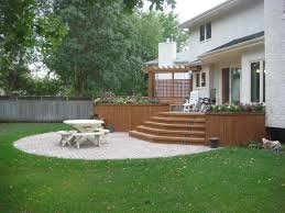 backyard deck and patio ideas stunning stone patio on outdoor