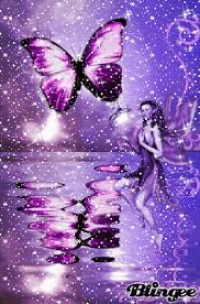 and purple butterfly picture 127519603 blingee com