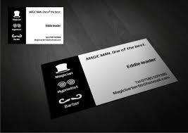 Magician Business Cards Business Card Design For Brett Menzies By Amduat Design Design