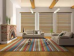 modern area rugs living room with nice colorful stripes cncloans