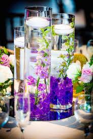 Purple Flowers Centerpieces by 314 Best Cylinder Vases Centerpieces Images On Pinterest