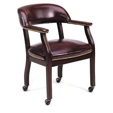 burgundy rolling guest chairb9545 office furniture city