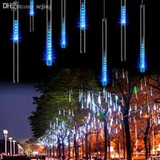 wholesale 30cm 8tubes drop icicle snow fall string led