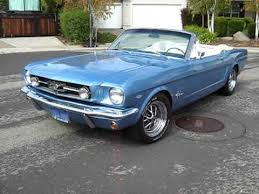 1965 mustang for sale california 1965 blue mustang convertible for sale export only