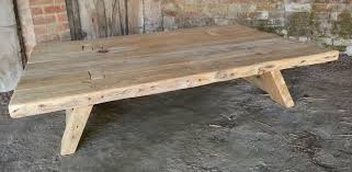 Trestle Coffee Table New Designs Ancient Reclaimed Wood