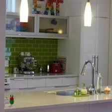 green kitchen tiles backsplash subway tiles with white cabinets