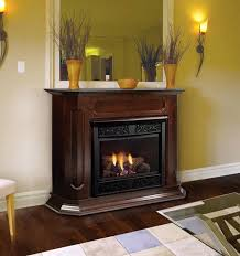 ventless gas fireplaces for inch vent free gas fireplace remote ready with wall surround and ventless gas fireplaces
