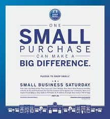 black friday small business saturday cyber monday case study amex small business saturday advertising case study