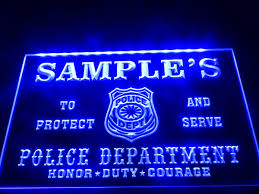 Neon Sign Home Decor Compare Prices On Police Neon Sign Online Shopping Buy Low Price