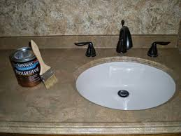 simply diy create a faux marble countertop with paper illusion