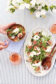 Summer Lunch Recipes Entertaining The Easiest Fig U0026 Burrata Salad You U0027ll Make All Summer Video