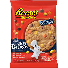 pillsbury halloween sugar cookies pillsbury ready to bake refrigerated cookies big deluxe reese u0027s