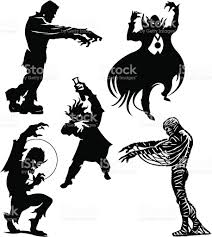 halloween monsters frankenstein dracula werewolf mummy mad