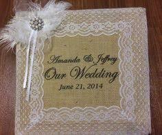 wedding photo albums 4x6 photos 400 rustic wedding album burlap and lace photo album 4 x 6 photos