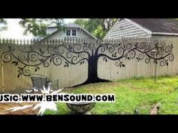 garden fence paint youtube