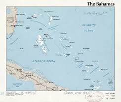 North America Political Map by Large Detailed Political Map Of Bahamas With Major Cities And
